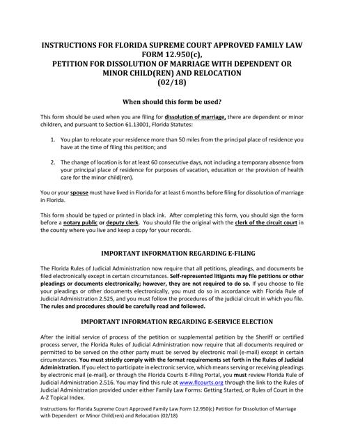 Form 12.950(C)  Printable Pdf