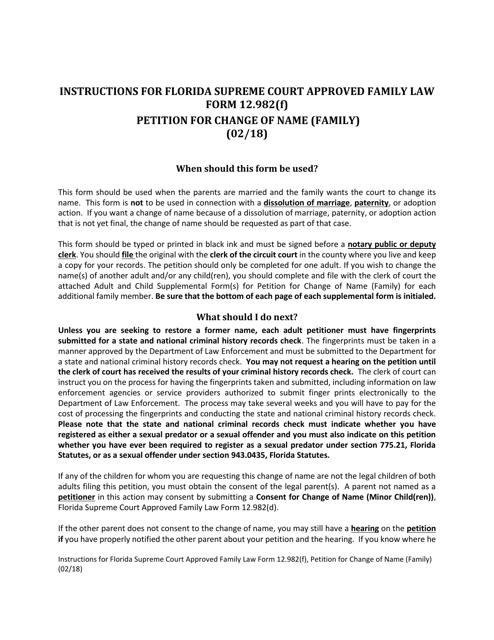 Form 12.982(F)  Printable Pdf