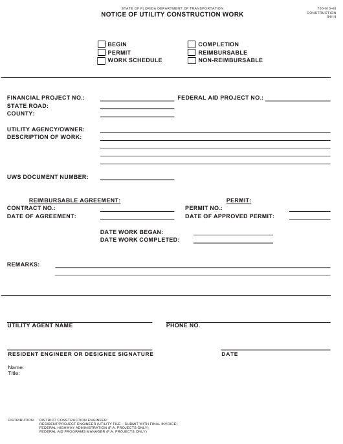 Form 700-010-48  Printable Pdf