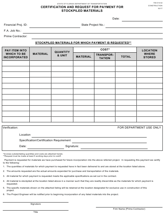 Form 700-010-42 Fillable Pdf