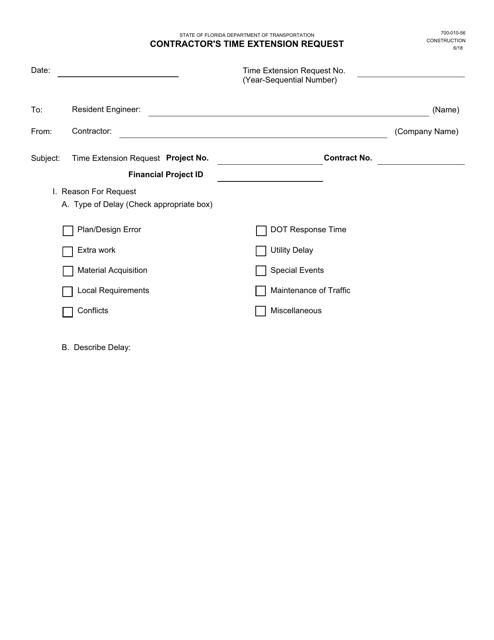Form 700-010-56  Printable Pdf