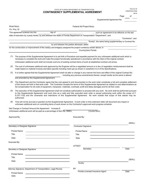 Form 700-010-79  Printable Pdf