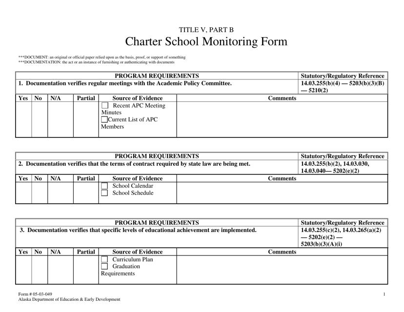 Form 05-03-049  Printable Pdf