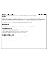 Instructions For Dhcs Form 100185 - Drug Medi-cal (dmc) Claim Submission Certification - Direct Contract Provider