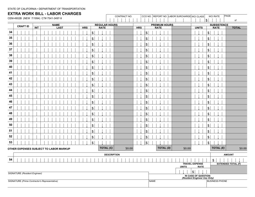 Form CEM-4902B  Printable Pdf