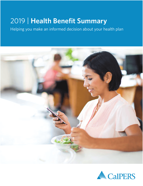 """Health Benefit Summary"" - California Download Pdf"