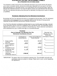 Form 0890 First Tier Future Election Package - California, Page 3