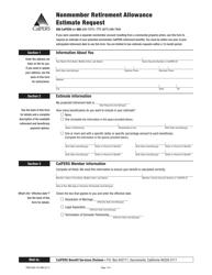 Form LS WKS Download Printable PDF, Ohio Lump Sum