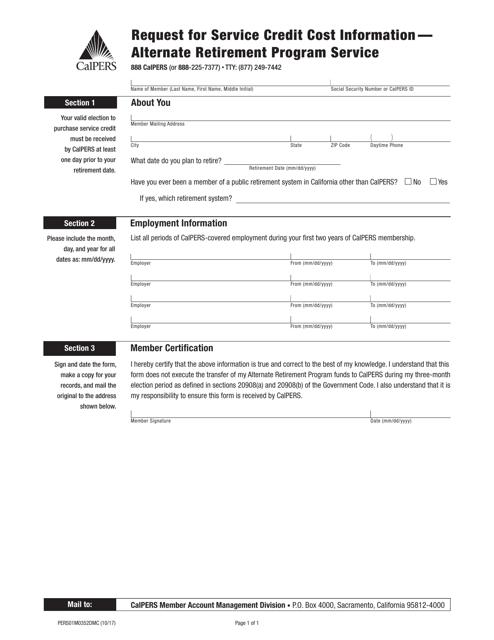 Form 01M0352DMC  Printable Pdf