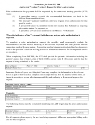 Form WC 188 Authorized Treating Provider's Request for Prior Authorization - Colorado