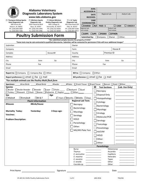 Form CF.ACC.8.2  Printable Pdf