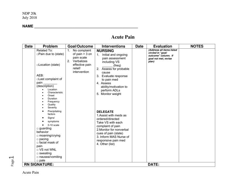 Form NDP20K  Printable Pdf