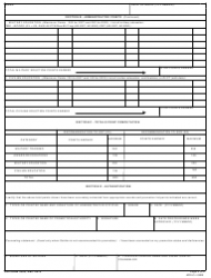 DA Form 3355 Promotion Point Worksheet (United States Army Reserve), Page 2