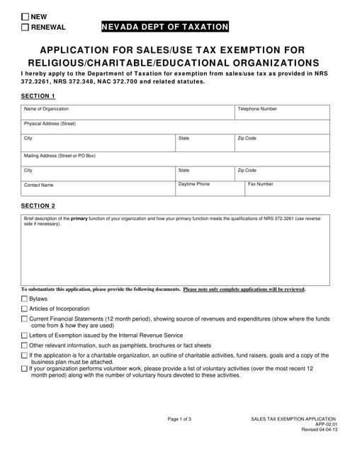 Form APP-02.01  Printable Pdf