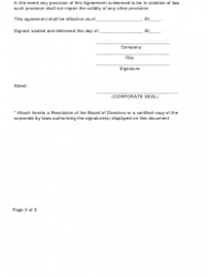"Form SI-01 ""Self-insurers' Guarantee Agreement"" - Kentucky, Page 3"