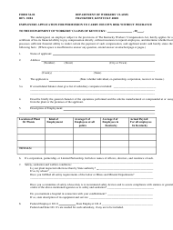 "Form SI-02 ""Employers Application for Permission to Carry His Own Risk Without Insurance"" - Kentucky"