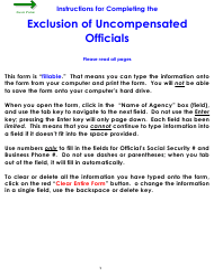 "Form WC44 ""Exclusion of Uncompensated Public Officials"" - Colorado"