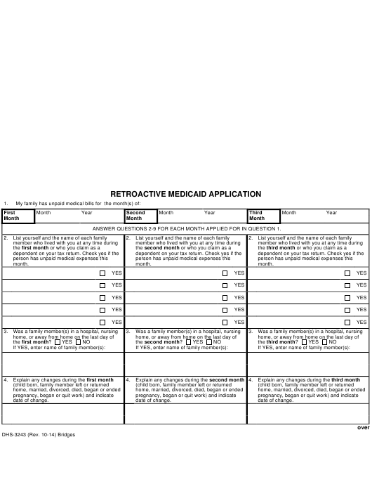 form-dhs-3243-retroactive-medicaid-application-michigan_big Online Application Template Html on sample web page, registration form, layout free, free photography, web design, home design, table design,