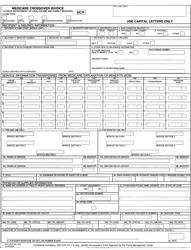 Form HFS 3797 Medicare Crossover Invoice - Illinois