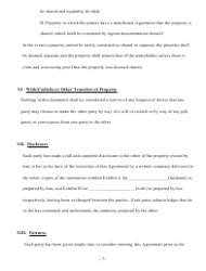 """Prenuptial Agreement Template"" - Maine, Page 7"