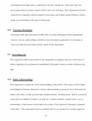 """Prenuptial Agreement Template"" - Maine, Page 8"