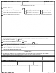 DD Form 2792 Family Member Medical Summary, Page 5