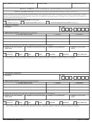 DD Form 2792 Family Member Medical Summary, Page 6