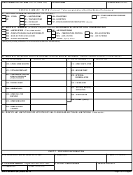 DD Form 2792 Family Member Medical Summary, Page 9
