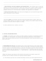 Roommate Agreement Template - Missouri, Page 6
