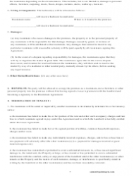Roommate Agreement Template - Missouri, Page 7