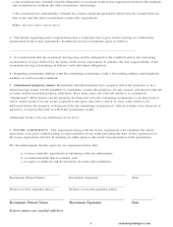 Roommate Agreement Template - Missouri, Page 8
