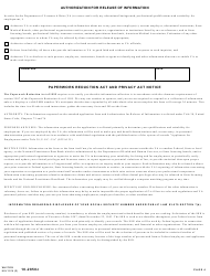 VA Form 10-2850c Application for Associated Health Occupations, Page 4