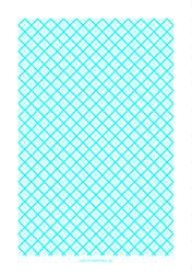 """Cyan 1 Cm Quilt Grid Graph Paper Template"""