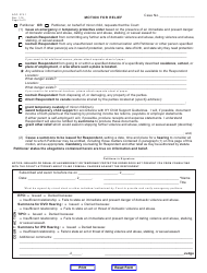 page_4_thumb Occupation Order Form Download on free printable medical, driving licence, income tax returns, application for admission, iap membership application, photography release, sbi kyc application, nehawu application,