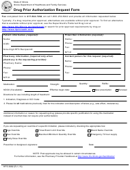 "Form HFS3082 ""Drug Prior Authorization Request Form"" - Illinois"