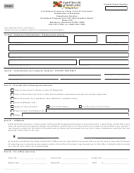 Form COT/ST 912 Unclaimed Property Claim Form & Checklist - Maryland