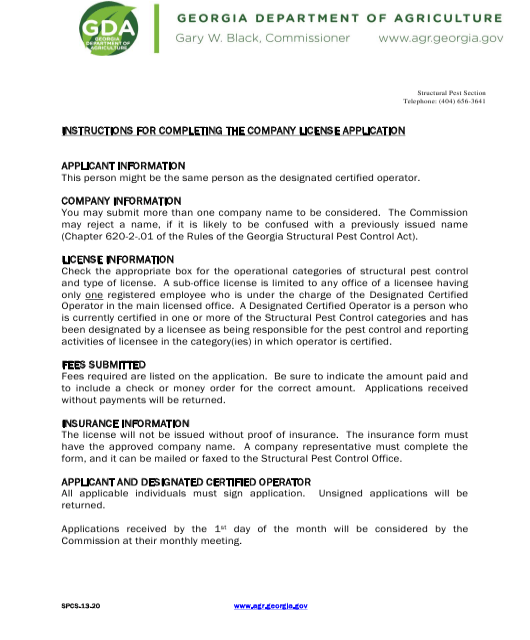 Form SPCS-13-20  Printable Pdf