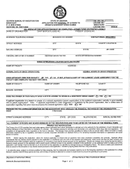 """Form B-06 """"Application for Renewal of License to Operate Nonprofit Bingo Games"""" - Georgia (United States)"""