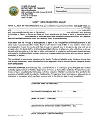 """Surety Bond for Escrow Agency"" - Idaho"