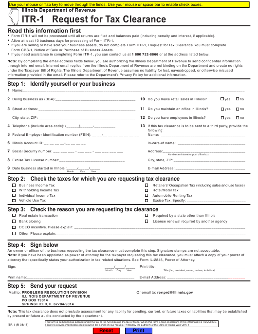 Form ITR-1 Printable Pdf