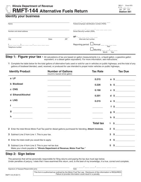 Form RMFT-144 Printable Pdf