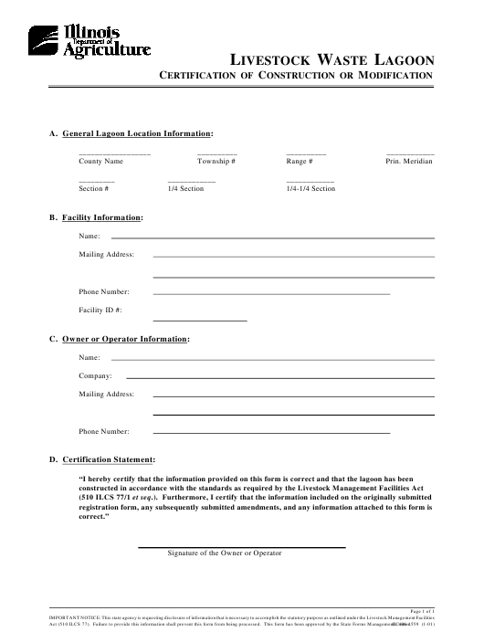 Form IL406-1559 Printable Pdf