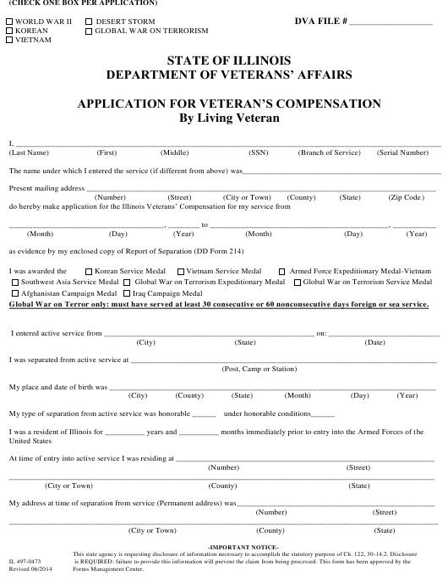 Form IL 497-0473 Printable Pdf