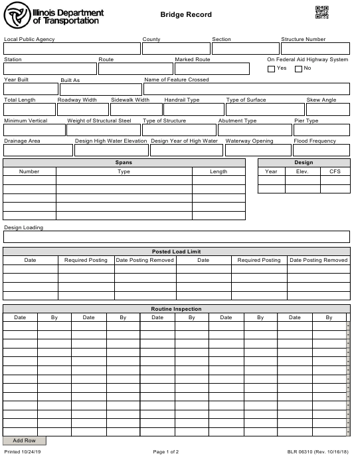 Form BLR06310 Printable Pdf