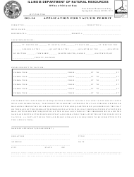 Form OG-14 Application for Vacuum Permit - Illinois