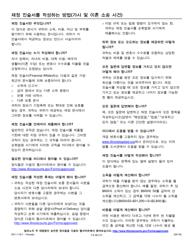 "Form DV-I119.1 ""How to Complete a Financial Affidavit (Family & Divorce Cases)"" - Illinois (Korean)"