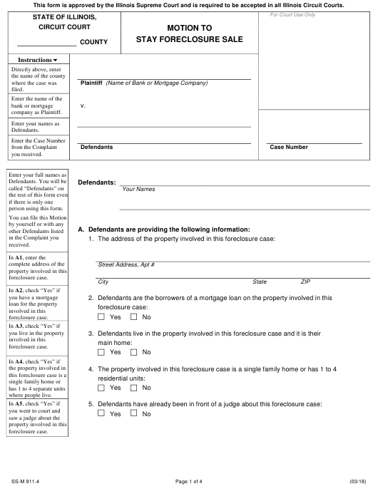 Form SS-M 911.4 Fillable Pdf