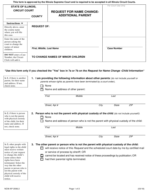 Form NCM-AP 2006.2 Fillable Pdf