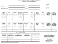 "Form ISP2-423C ""Monthly Index Crime Form - Uniform Crime Reporting Program"" - Illinois"