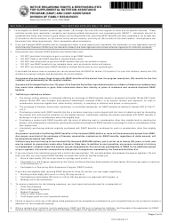 commonwealth assistance forms
